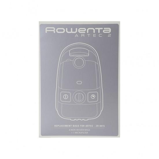 Rowenta Artec2 6'lı Toz Torbası + Filtre ZR001501