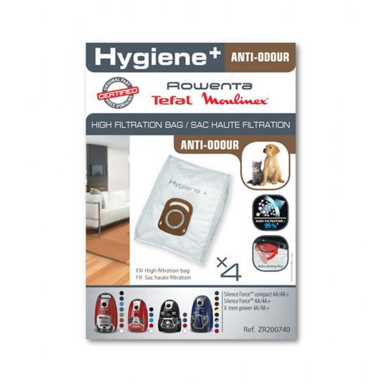 Rowenta Hygiene+ 4'lü Koku Giderici Toz Torbası ZR200740