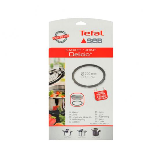 Tefal Delicio Düdüklü Tencere Lastik 4,5-6 Lt 980157
