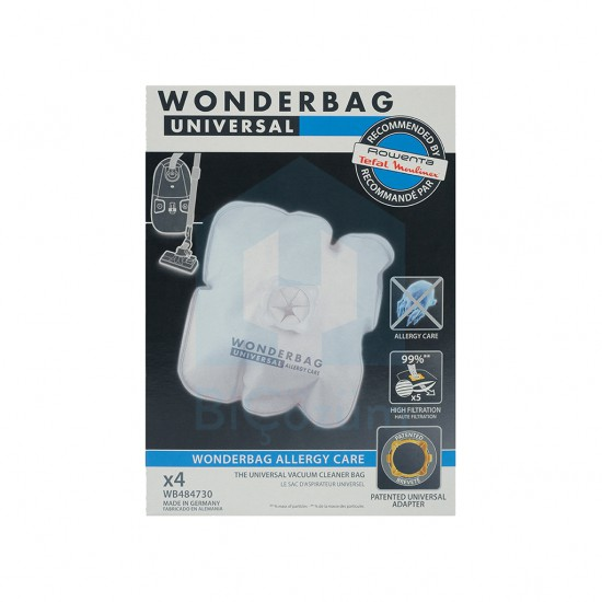 Rowenta Wonderbag 4'lü Alerjik Toz Torbası WB484730