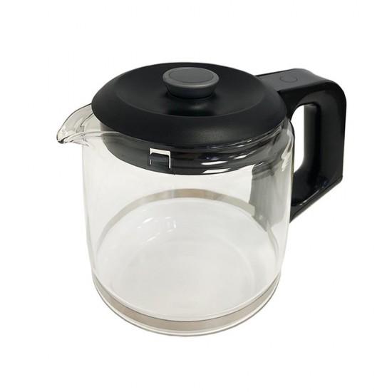 Arzum Çaycı Cam Demlik Komple - Siyah - AR306102