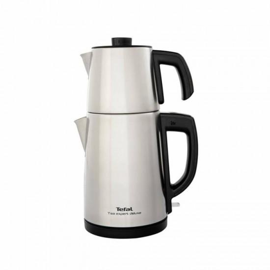 Tefal Tea Expert Deluxe BJ5098 Paslanmaz Çelik Demlikli Çay Makinesi