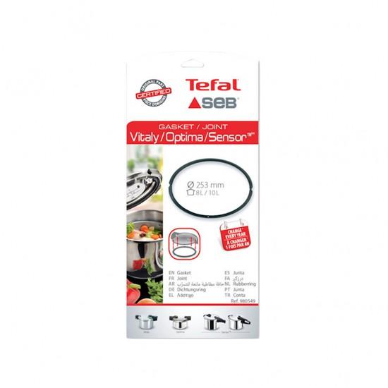Tefal Sensor-Optima Düdüklü Tencere Lastik 8-10 Lt 980549