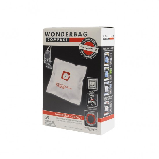 Rowenta Wonderbag Kompakt 5'li Toz Torbası WB305120