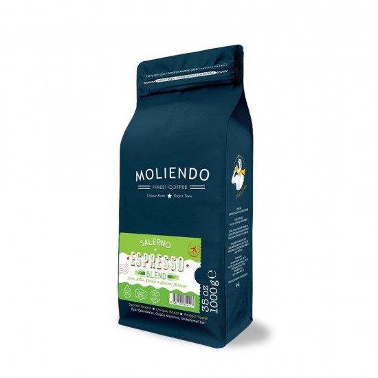 Moliendo Salerno Espresso Blend Kahve 1 Kg